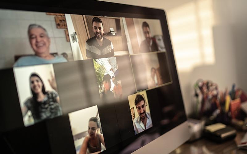 computer screen video call technology